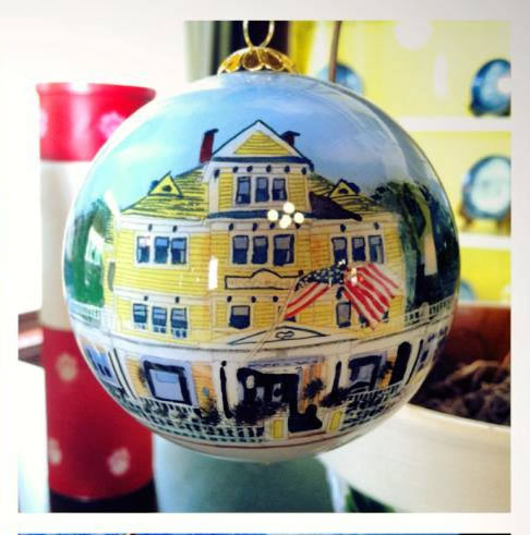 Christmas Ornament of Windermere Hotel