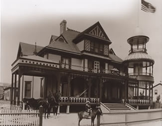 Winderemere Hotel in late 1800s